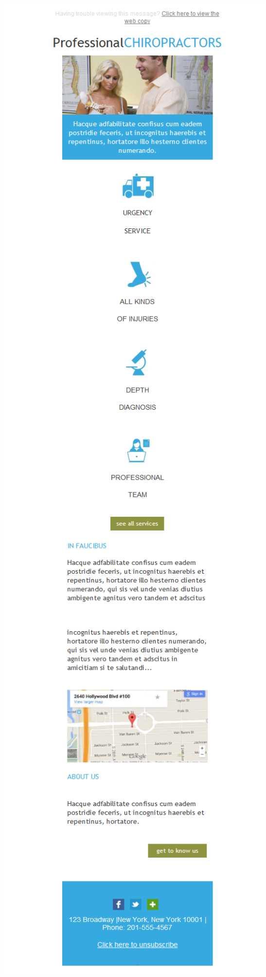 Dorable Plantillas De Quiropráctica Composición - Colección De ...