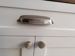 Southern Hills Brushed Nickel Cup Pulls 5 Inch Ing 6 1 4