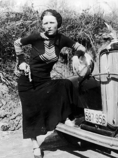 New 11x14 Photo Infamous Depression-Era Outlaws Bonnie Parker and Clyde Barrow