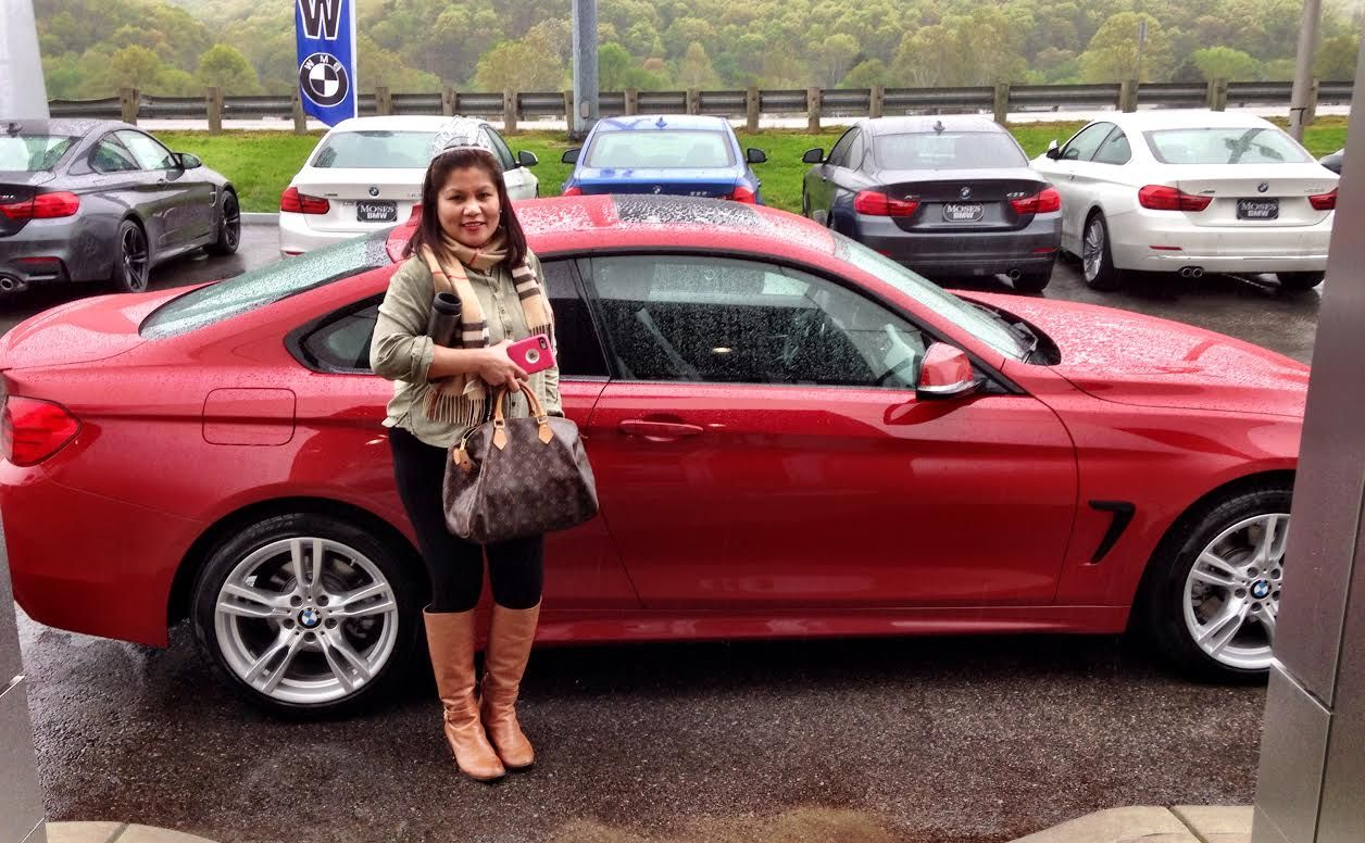 Congratulations Marisa Howerton on your new BMW 3 Series