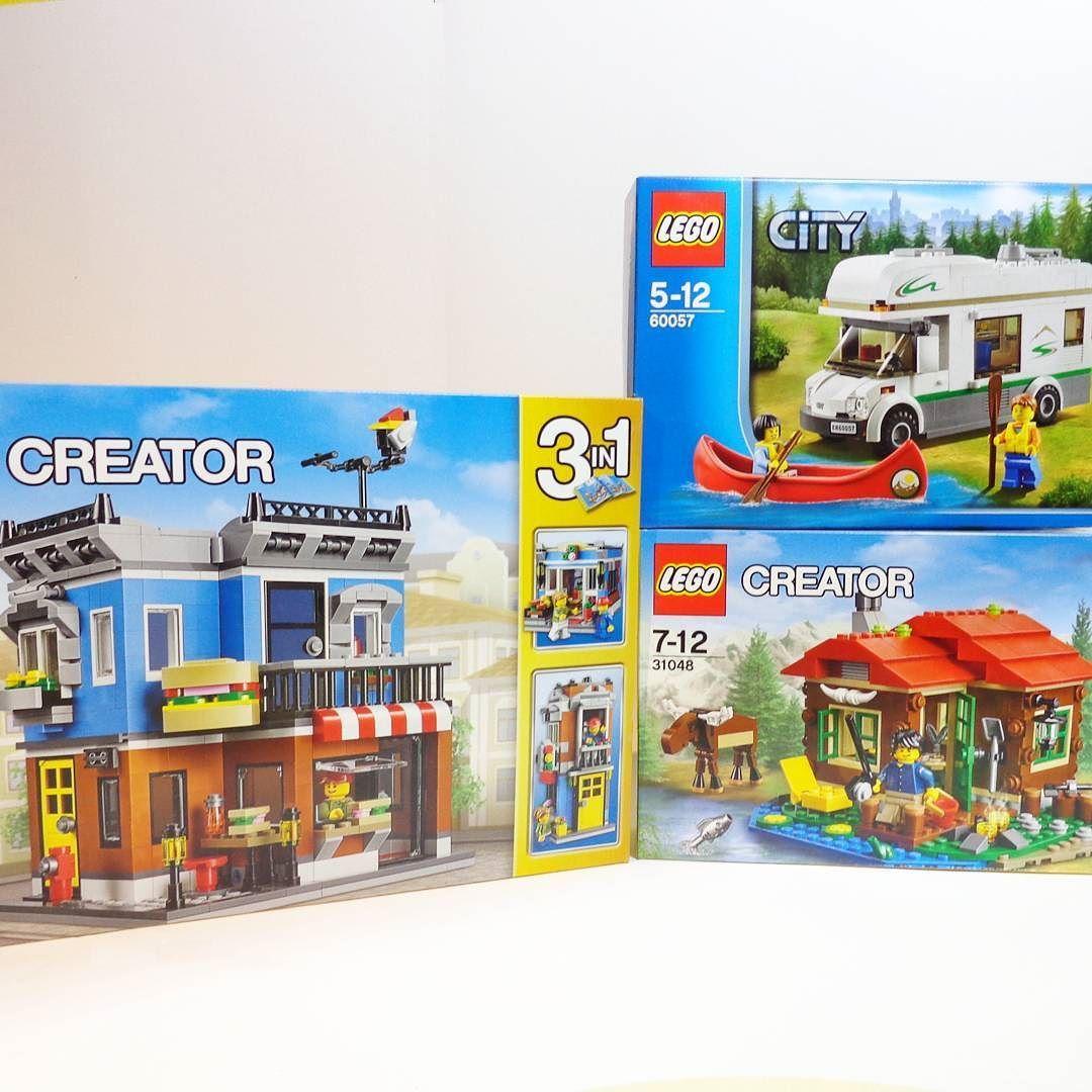 Lego Creator City Camper Van Canoe 60057 Corner Deli