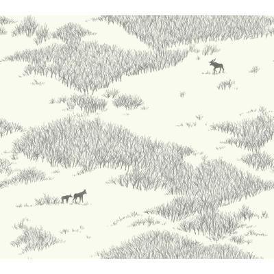 York Wallcoverings 60 75 Sq Ft Wild Tundra Wallpaper