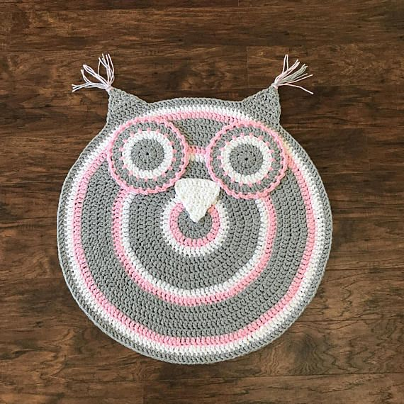 Crochet Owl Nursery Rug Crochet Your Own Little Bit Of Whimsy To A