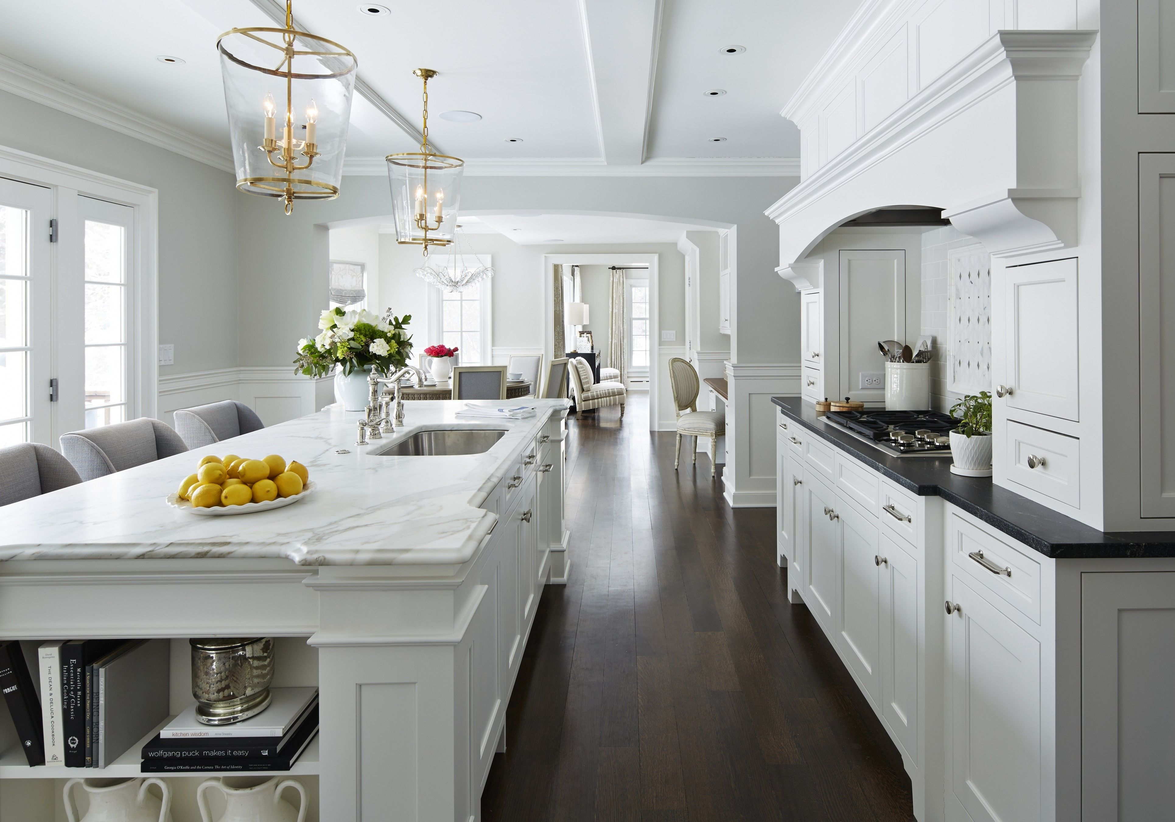 Edgcumbe Road Martha O Hara Interiors White Kitchen Design Kitchen Inspirations White Modern Kitchen
