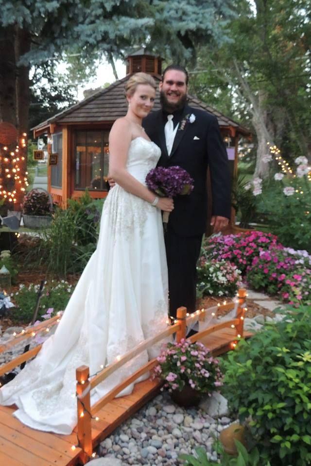 Beautiful twilight wedding