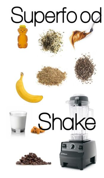 Ok, I'll admit, this is no milkshake. But if you want to fuel up on superfoods instead of sugar... #athletefood