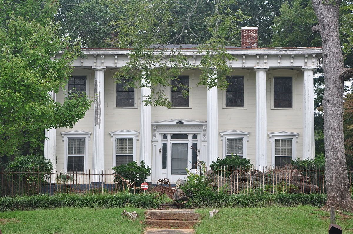 Pritchard Moore Goodrich House Wikipedia Goodrich Architecture Old Antebellum South