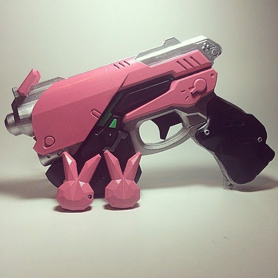 Watch Over D.va Gun Headphone Hana Song Dva Weapon Pistol Headset Cosplay Costume Props Accessories For Game Convenience Goods Novelty & Special Use Costumes & Accessories