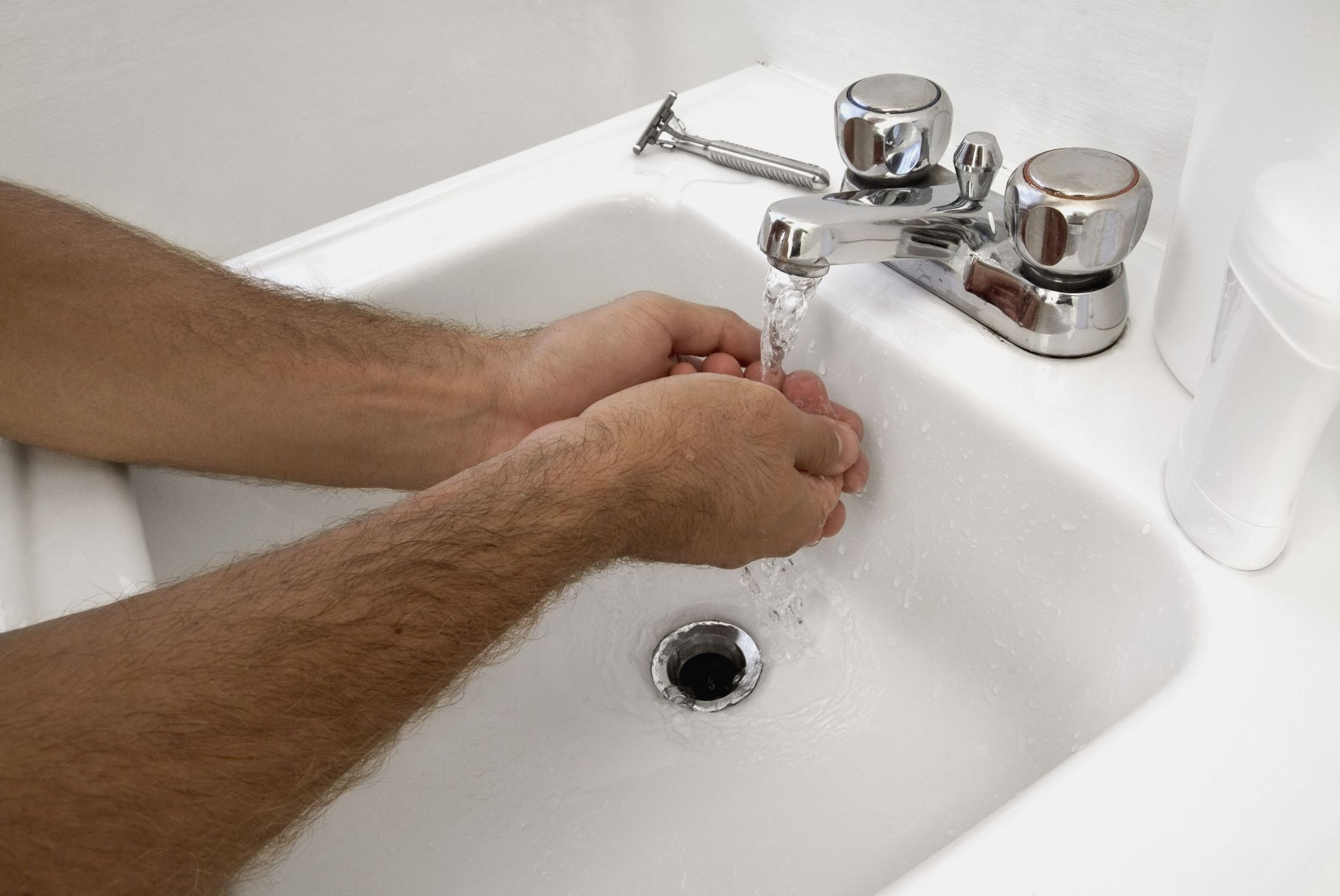 Lavatory Sink Mold Musty Smell Bathroom Drain Smelly Sink Sink Drain