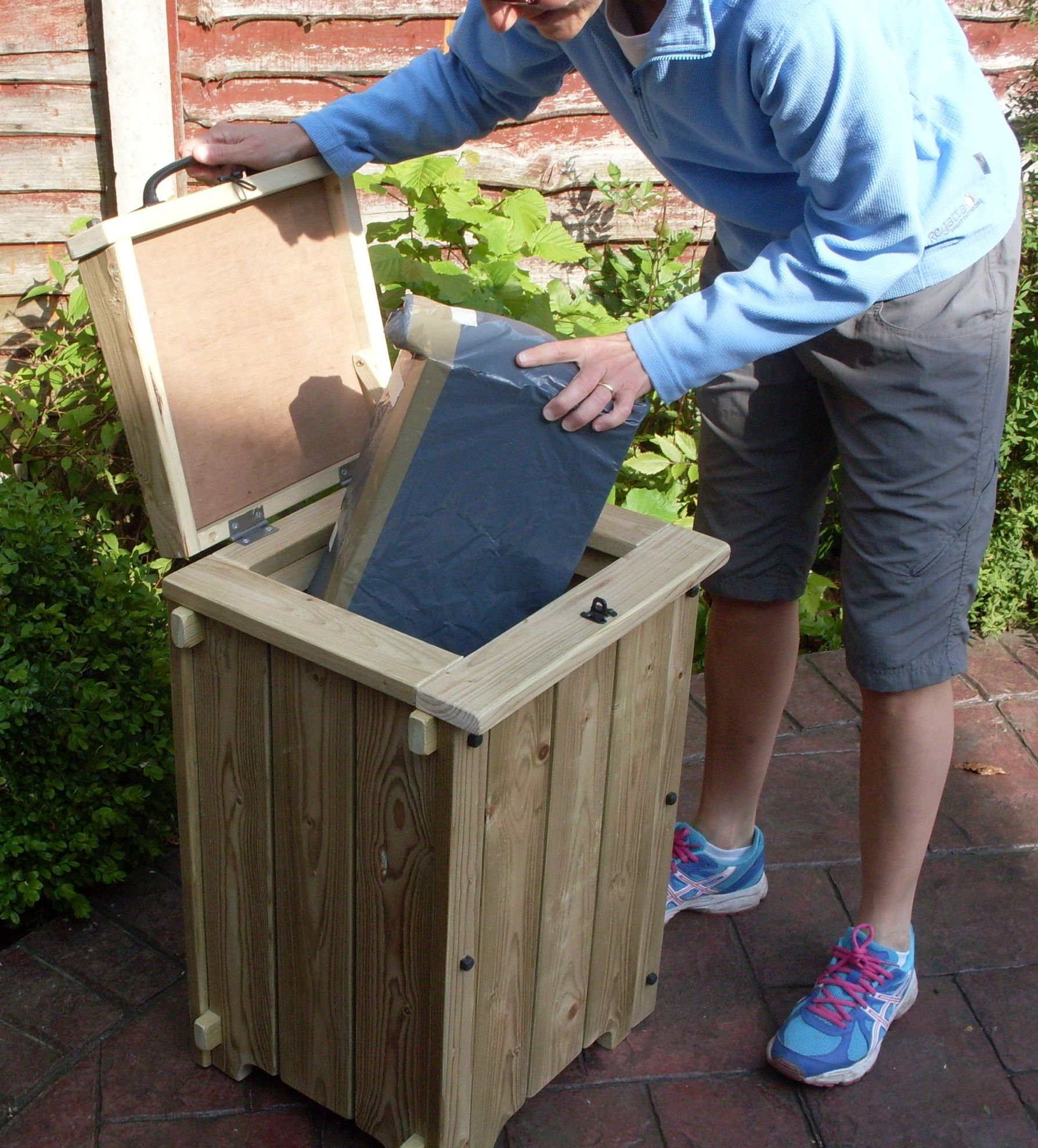 Home Delivery Furniture: Parcel Drop Box For When You Are Out. Facebook. KH Garden