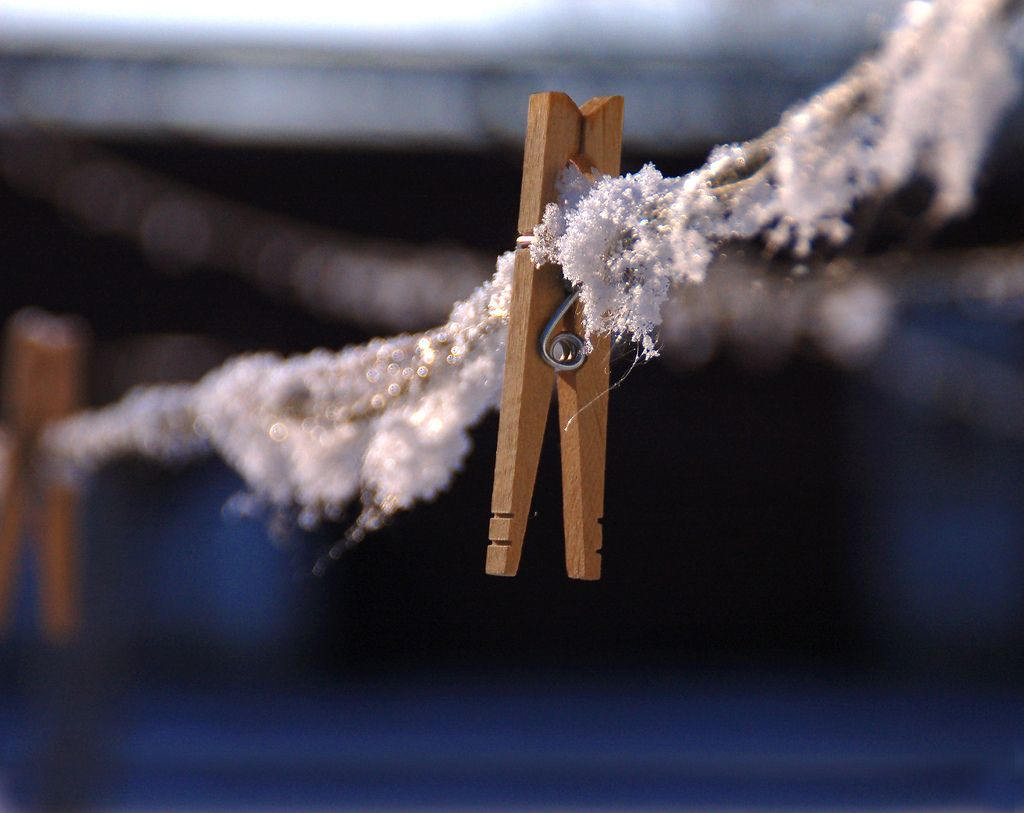 cold clothesline