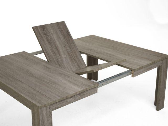 Cette magnifique table carr e de salle manger dordogne - Table de salle a manger design avec rallonge ...