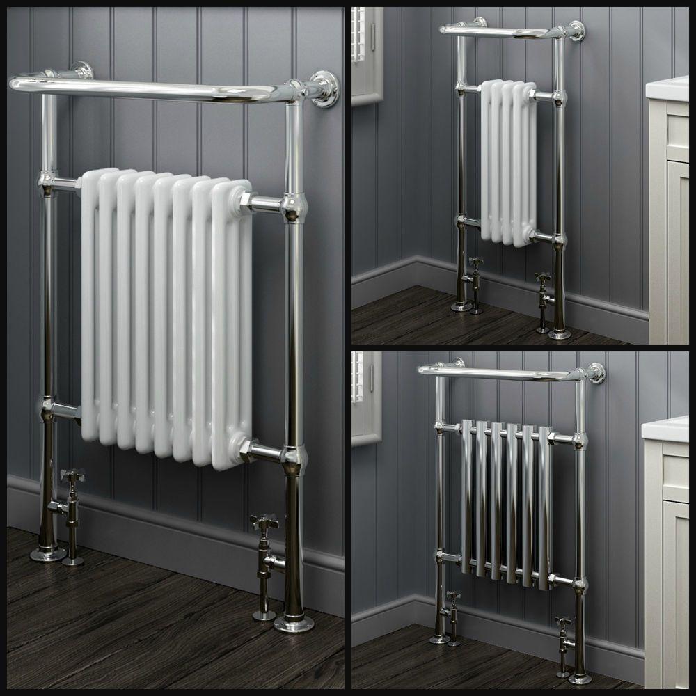 15mm chrome radiator copper pipe tube towel rail  Choose size ✔   Free P/&P ✔