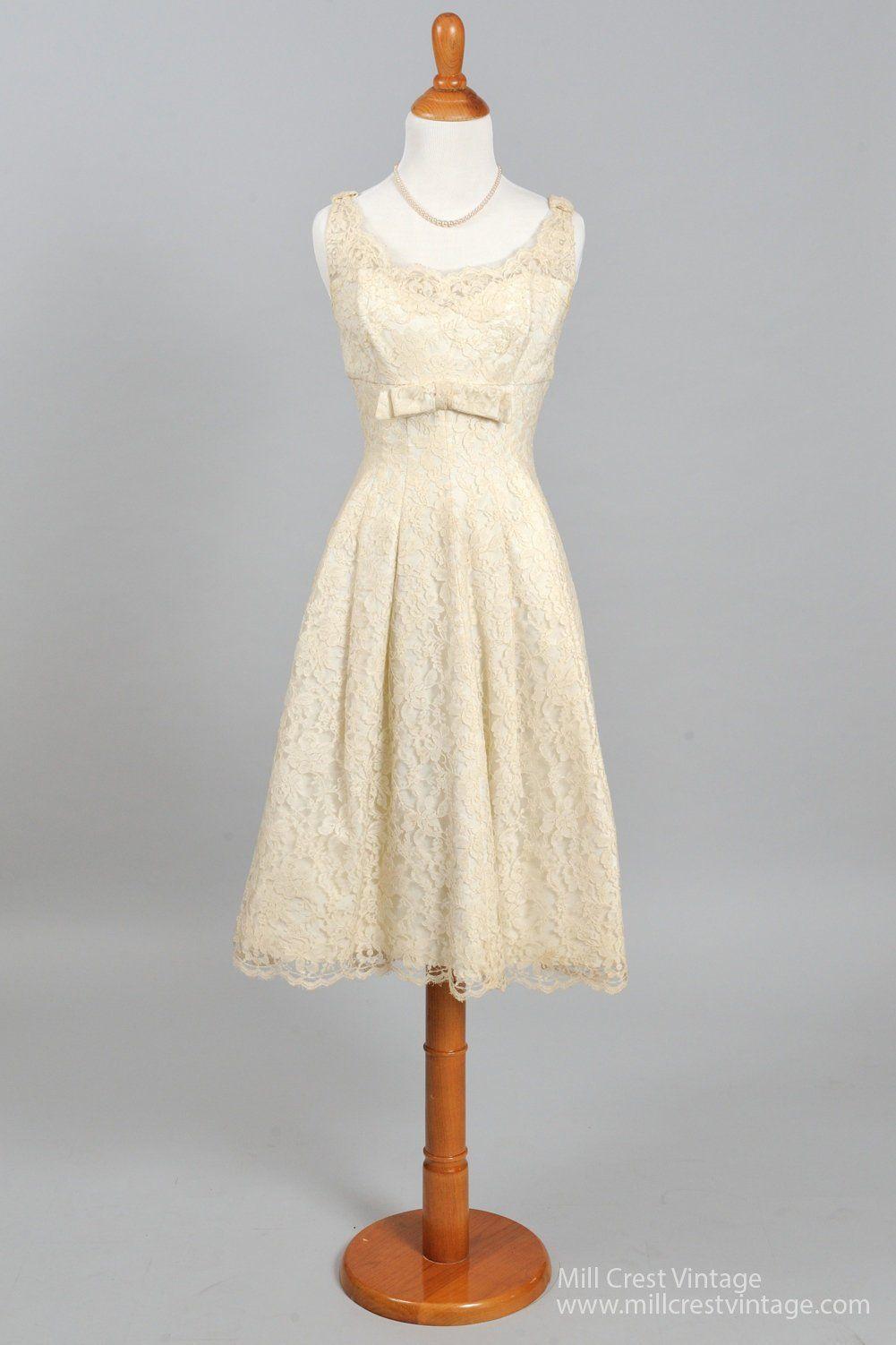 1960 wedding dresses   Lace Empire Vintage Wedding Dress  GbY WEDDING DRESS uACC