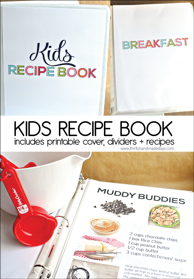 image about Create Your Own Free Printable Cookbook identified as Family members Favored Recipes - excellent for young children + young adults