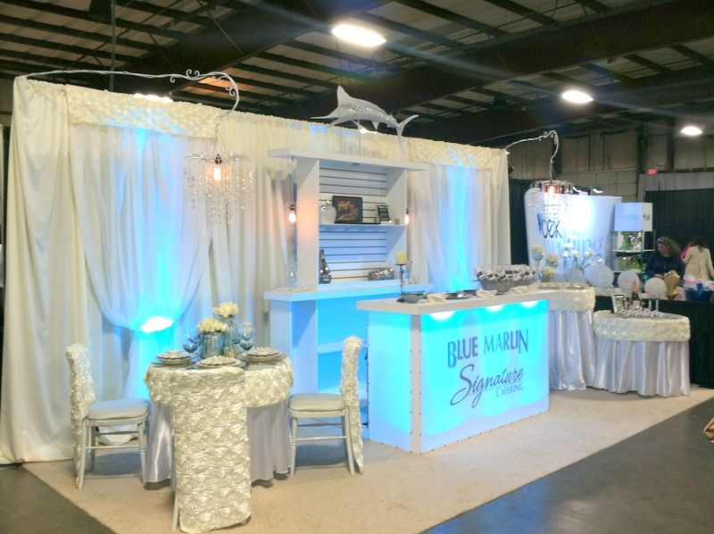 Vendor Booth Design at the Bridal Show we brought for our ...