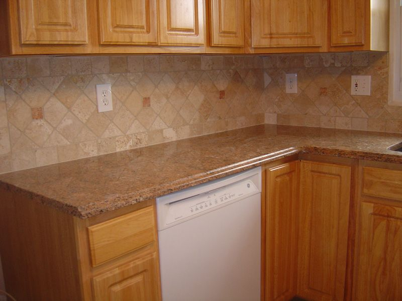 ceramic tile backsplash - Ceramic Tile Kitchen Backsplash