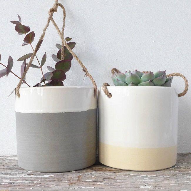 Indoor Hanging Plant Pot Holders Trend Plant Life Pinterest