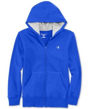 Sherpa Lined Zip Hoodie for Boys