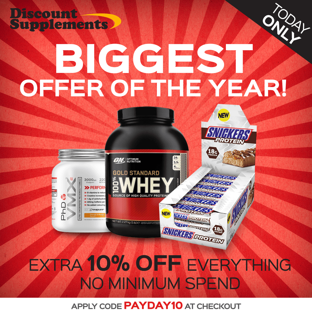 Biggest Discount Code Of 2017 Today Only All Products All Brands Www Discount Supplements C Optimum Nutrition Snickers Protein Sports Supplements