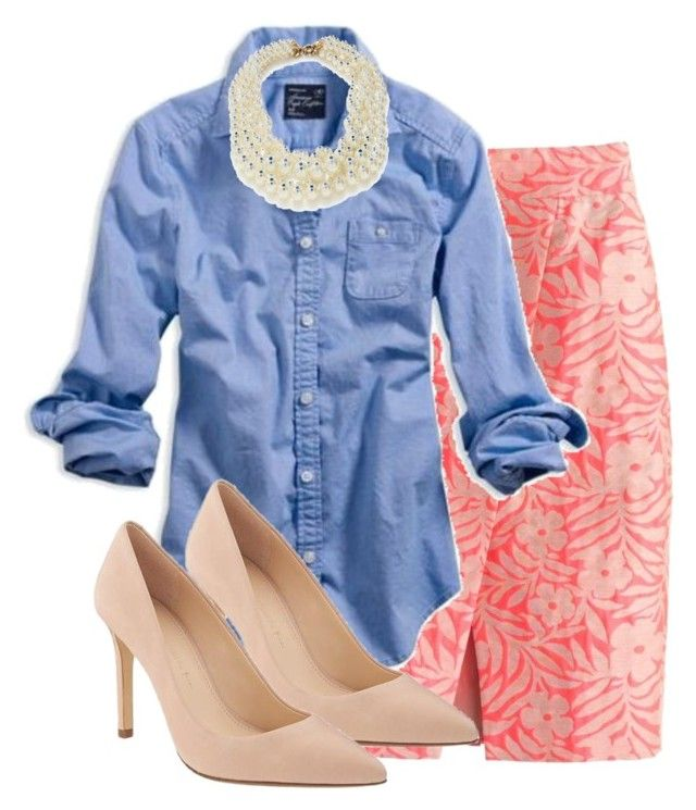 Untitled #3138 by my4boys on Polyvore featuring American Eagle Outfitters, J.Crew and Banana Republic
