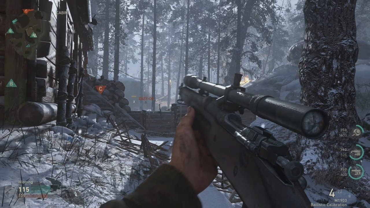 call of duty ww2 multiplayer weapons