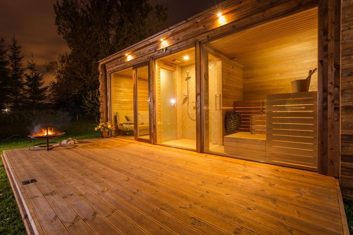 outdoor home sauna australia