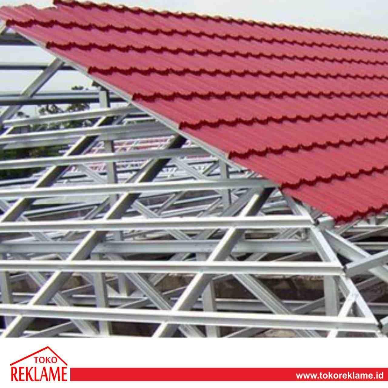 spesifikasi baja ringan untuk atap kirim pesan ke penjual jasa produksi kanopi di palu