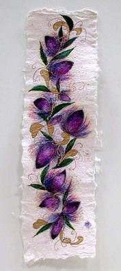 Valda Fitzpatrick Purple Flowers absolutearts.com