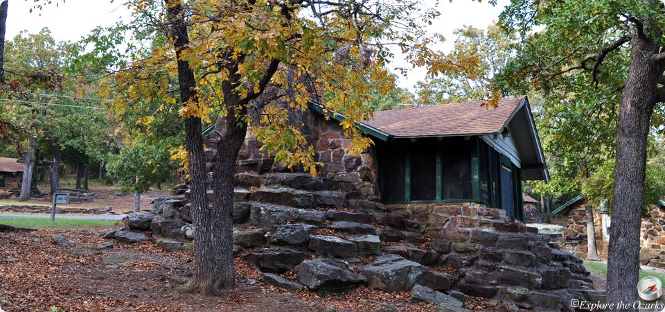 Greenleaf state park cabins camping explore the ozarks