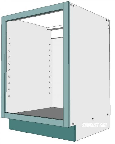 three ways to build a basic kitchen cabinet | building