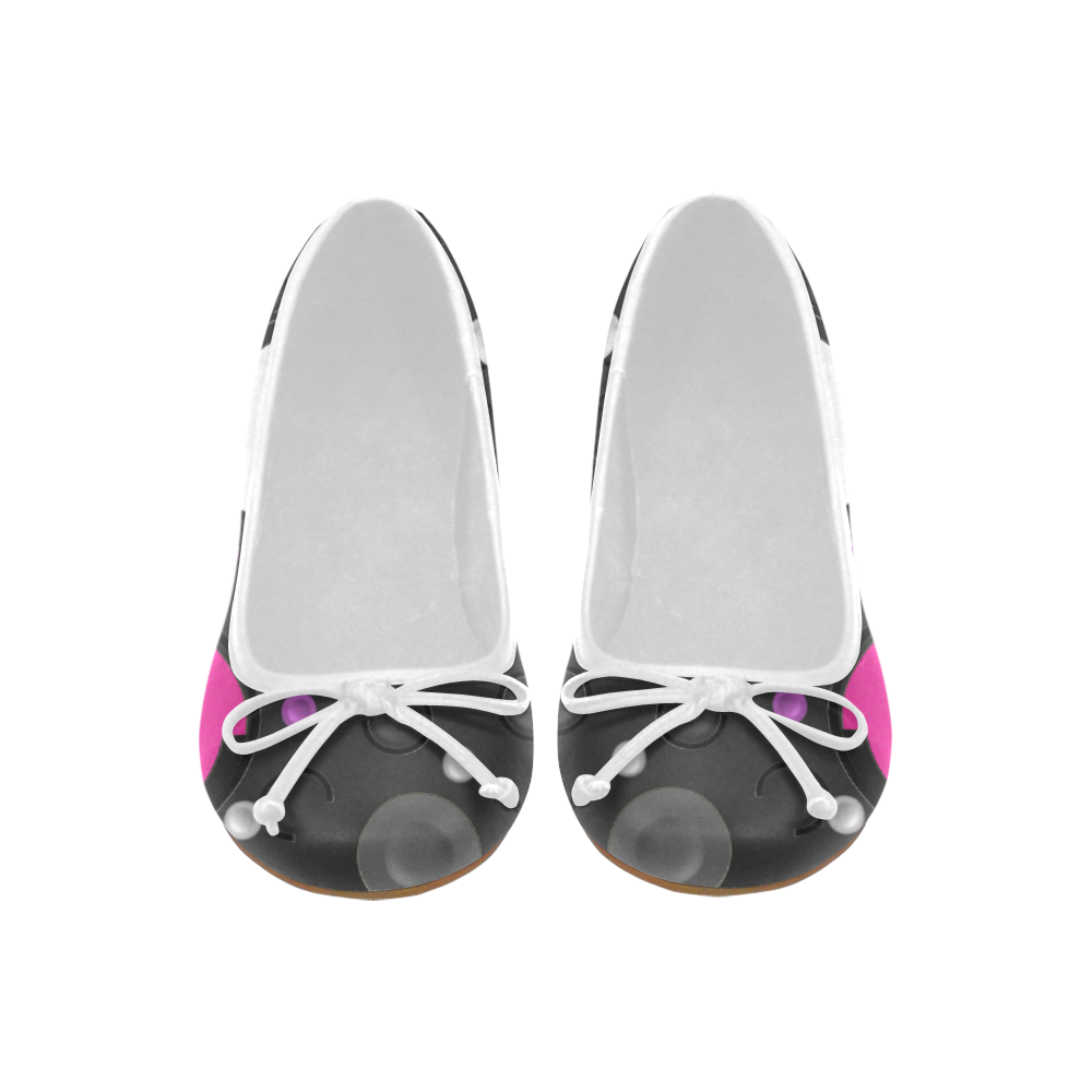 9af26293b99945 Pink Purple Circles Juno Ballet Pumps (Model 312)   Artsadd   Pinterest