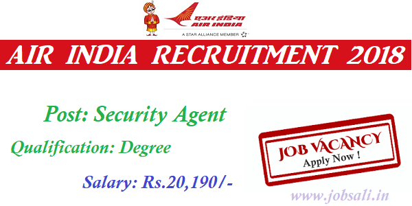 Aiatsl Jobs 2018 Apply For 40 Security Agent Jobs In Ahmedabad