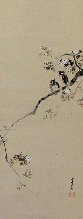 Pin By Sam Ay On Chinese Brush Painting Sumi E Japanese Painting Japanese Art Chinese Art