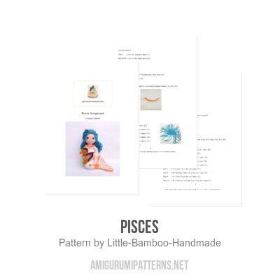 Pisces amigurumi pattern - Amigurumipatterns.net