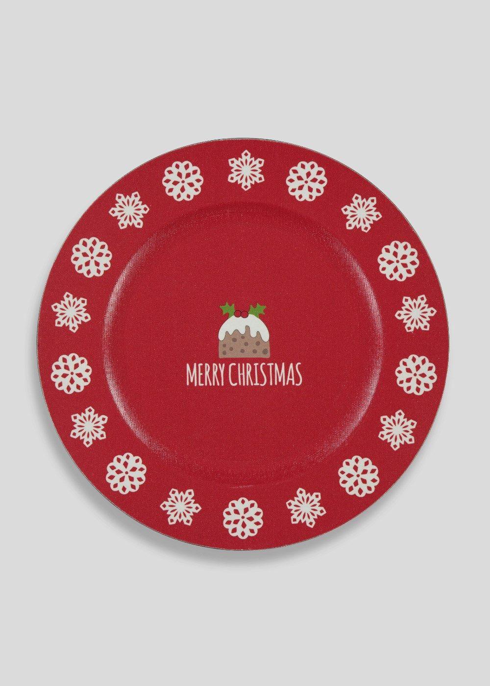 Christmas Shop Christmas Plates Charger Plates Decor Shop Decoration