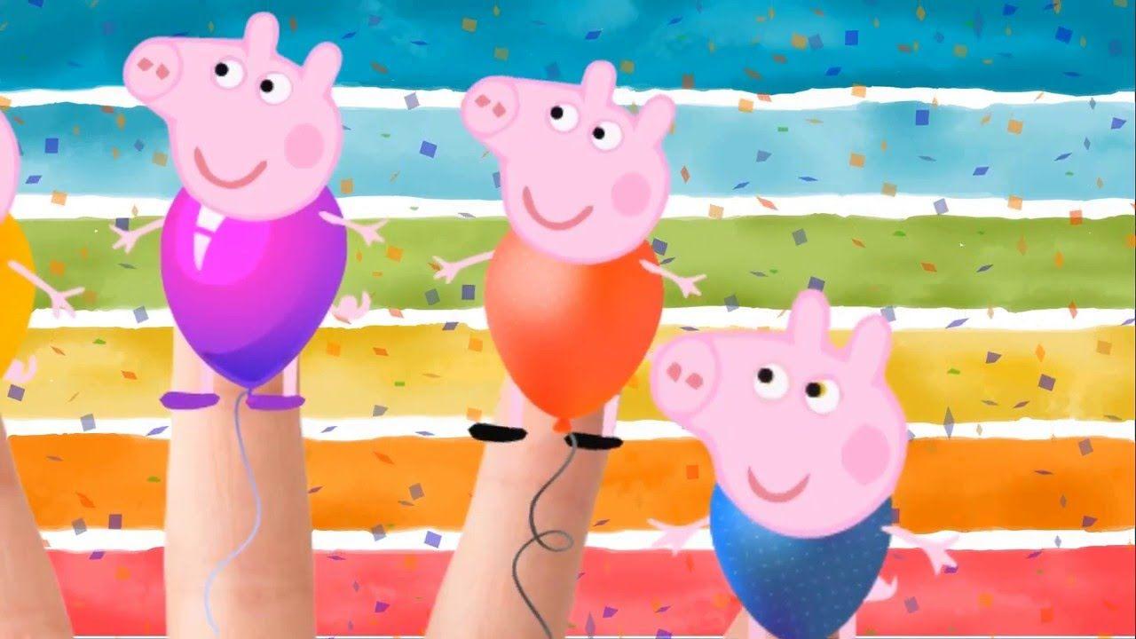 Peppa Pig il Palloncino La Famiglia Dito - La famiglia delle dita - più ...