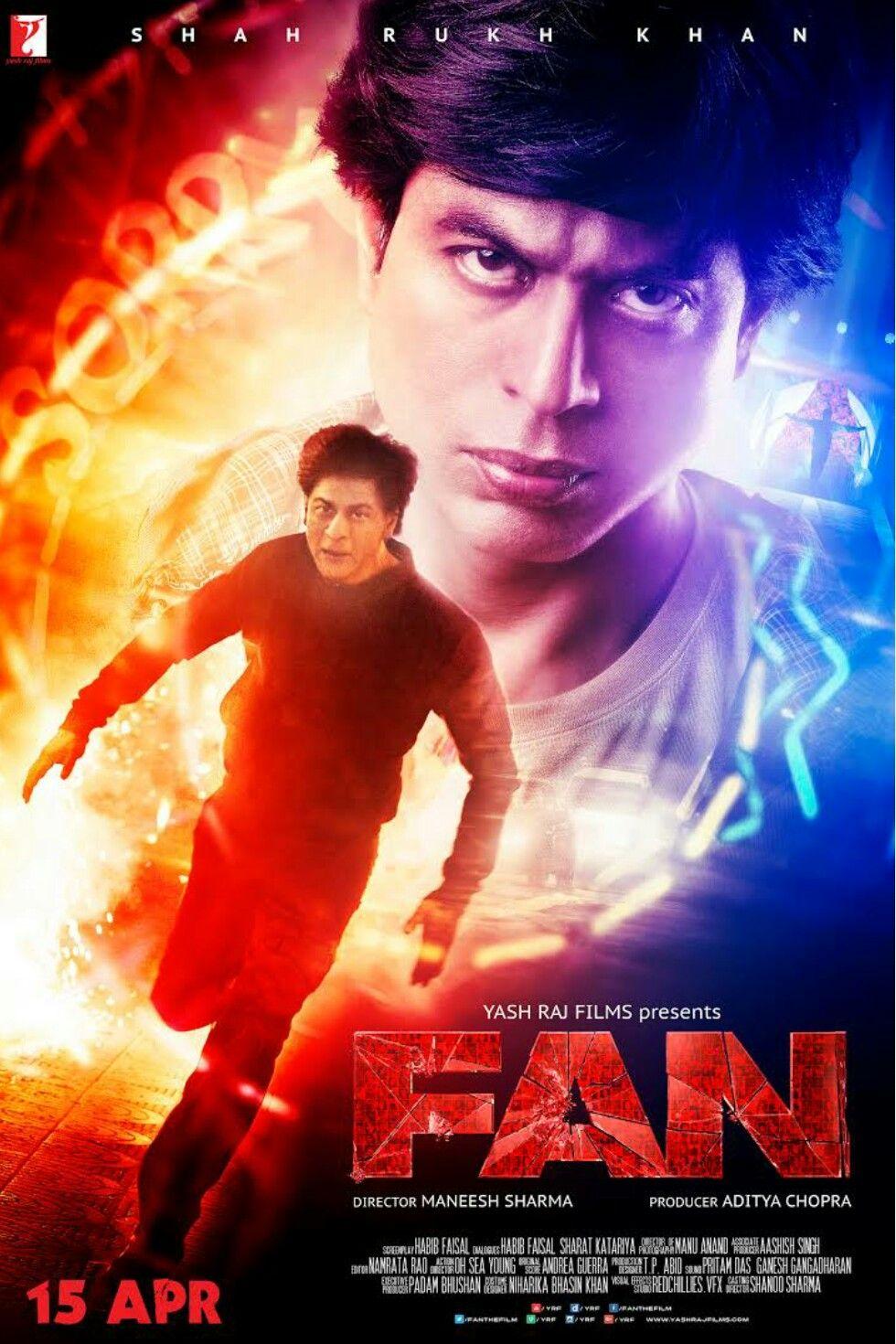 Fan. 2016 Indian psychological thriller/ action film. in