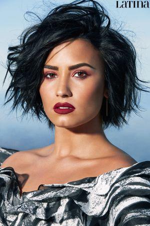 Demi Lovato Hair Cut Color