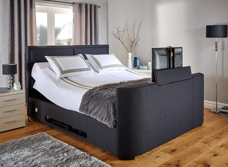 Truscott Faux Leather Tv Bed Frame Dreams Tv Beds Tv Bed