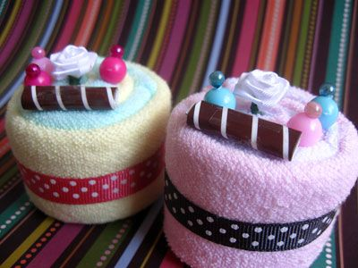 Baby Shower Gifts Crafts ~ Handmade crafts wascloth cupcakes baby shower shower ideas