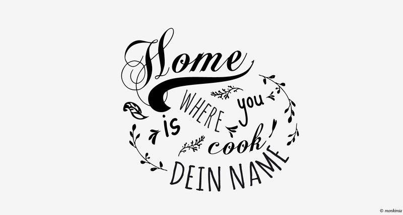 Wandtattoo - Küche - mit Deinem Namen Wall decals and Walls - wandtatoo für küche