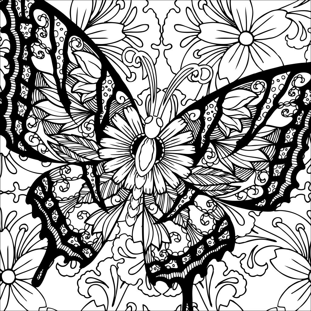 Pin by Cintia Daflon on Desenhos para colorir | Pinterest | Adult ...