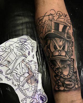Quer Fazer Uma Tatuagem Do Tio Patinhas Preparei Uma Lista