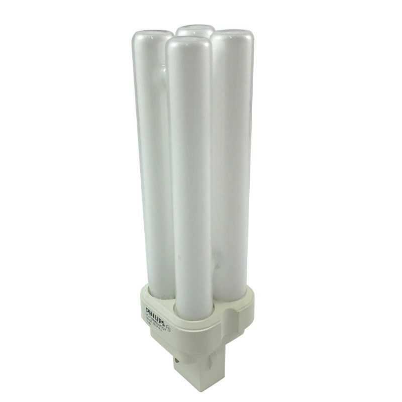 Philips 28w Double Tube 2 Pin 2700k Pl X Gx32d 3 Fluorescent Light Bulb Products Light Bulb Bulb Luminous Flux