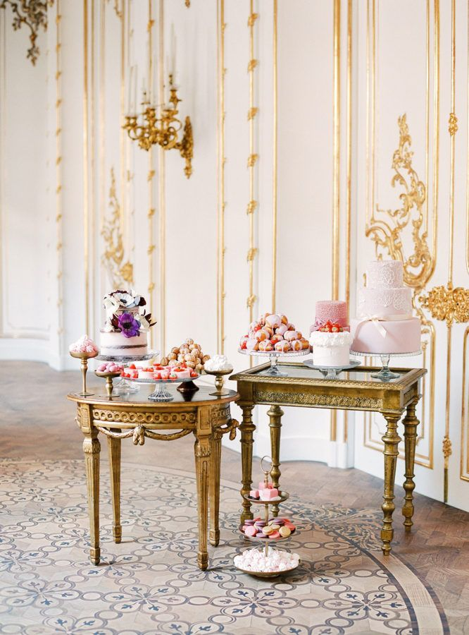 Dessert Tablescape   A Royal Celebration Complete with Cakes and Crowned Puppy   Vienna, Austria