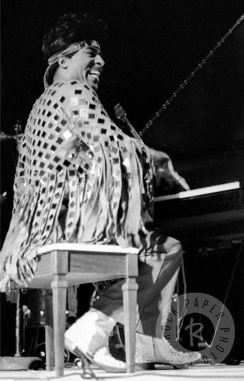 Little Richard, Wadena 1970 by Thomas Copi www.RockPaperPhoto.com