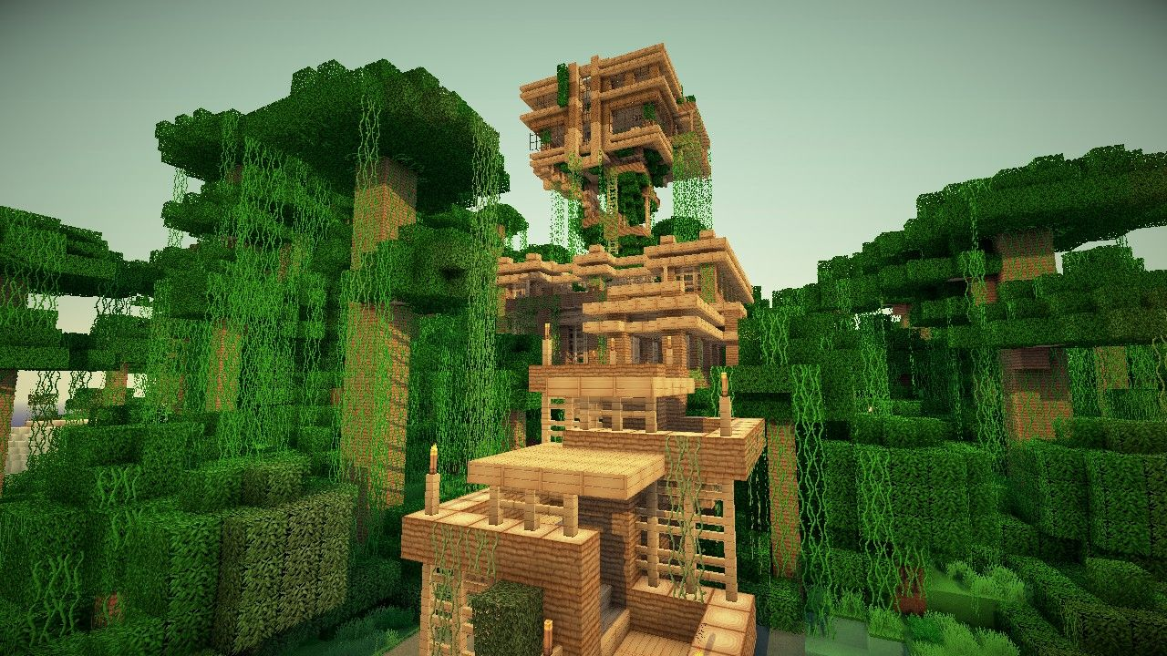 Jungle Treehouse By Keralis Minecraft Map