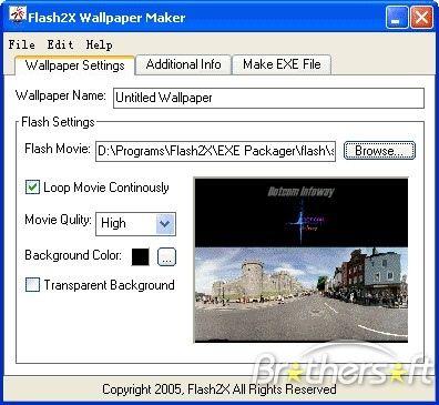 Flash Wallpaper Maker Software Informer It Is A Strong Tool Wallpaper Maker Flash Wallpaper Wallpaper