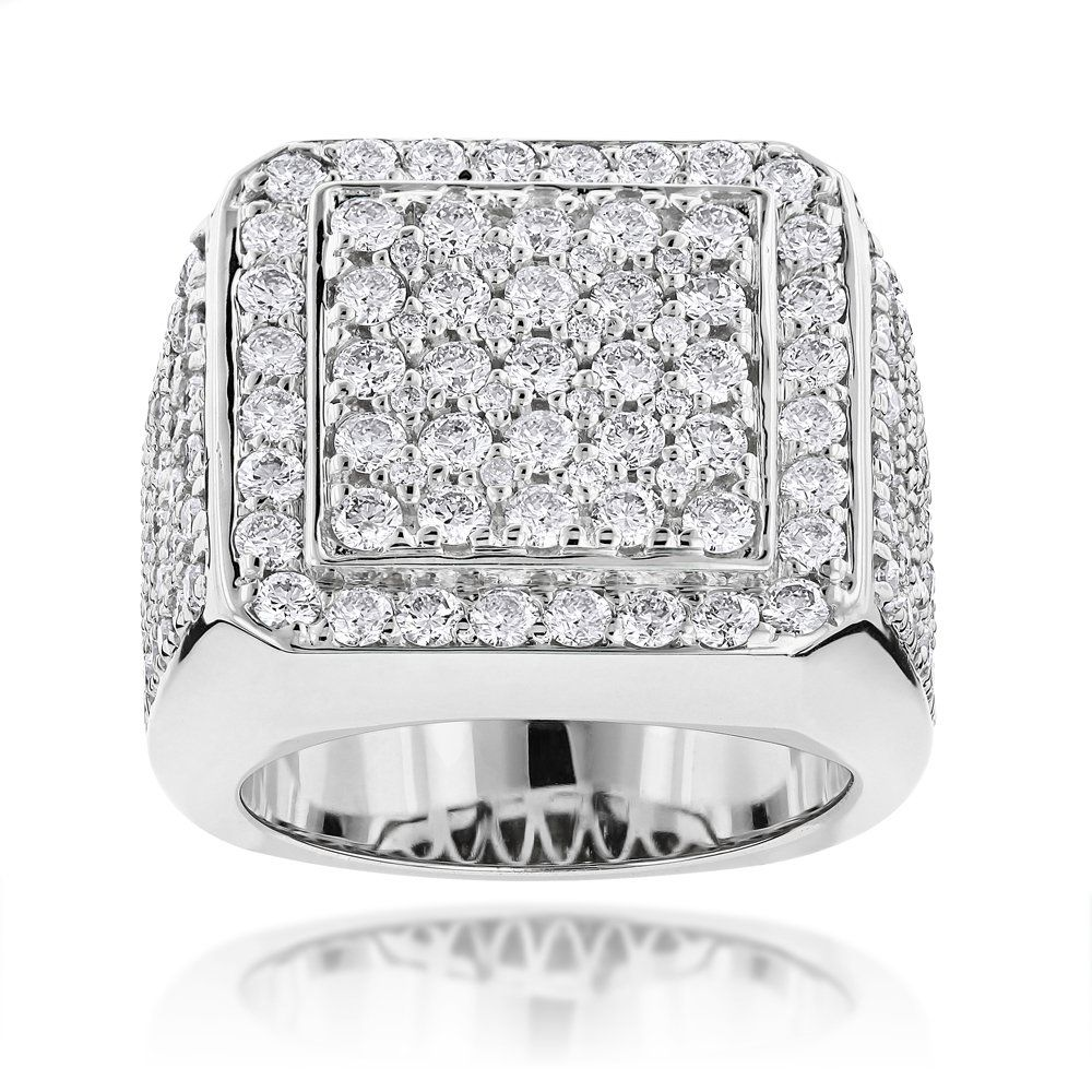 Designer mens diamond ring ct k gold vision board pinterest